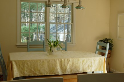 Orleans Cape Cod vacation rental - Dining room table seats seven.