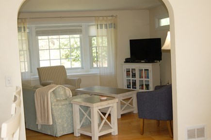 Orleans Cape Cod vacation rental - Living room with cable TV.
