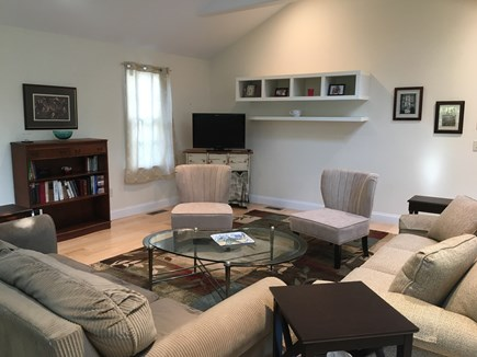 Orleans Cape Cod vacation rental - Sun lit great room view A.