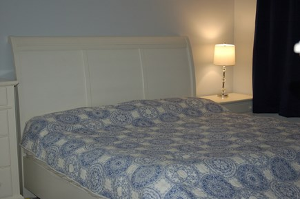 Orleans Cape Cod vacation rental - Master bedroom king, extremely comfortable bed.