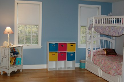 Orleans Cape Cod vacation rental - Guest bedroom bunks and unseen twin bed.