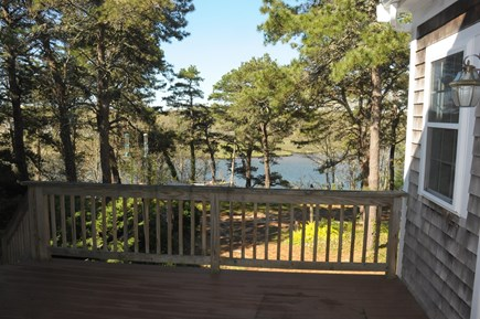 South Dennis Cape Cod vacation rental - Bass River views from the deck