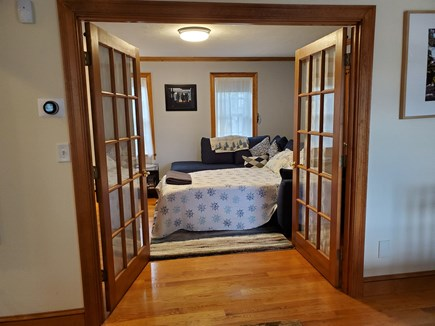 South Dennis Cape Cod vacation rental - Private den with sleeper sofa