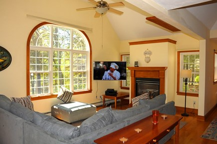 South Dennis Cape Cod vacation rental - Open concept living room