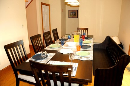 South Dennis Cape Cod vacation rental - Seating for 10