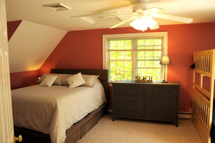 South Dennis Cape Cod vacation rental - Queen bed and  double bunks