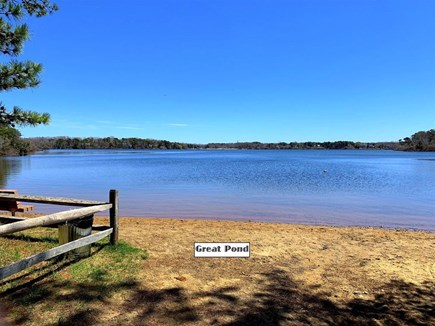 Eastham Cape Cod vacation rental - Great Pond / Wiley park just steps away