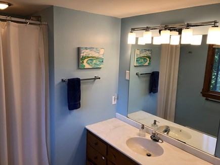 Eastham Cape Cod vacation rental - Master bathroom