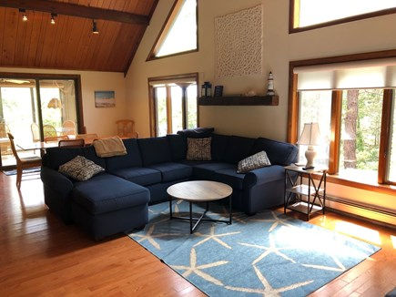 Eastham Cape Cod vacation rental - Spacious, bright, living room
