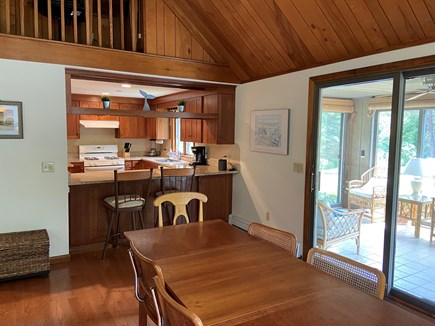 Eastham Cape Cod vacation rental - Dining area / kitchen