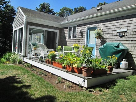 Chatham Cape Cod vacation rental - Deck faces east