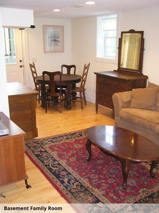 Wellfleet Cape Cod vacation rental - Basement Family Room