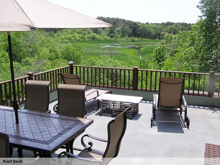 Wellfleet Cape Cod vacation rental - Roof Deck with stunning views of Blackfish Creek