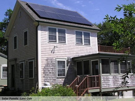 Wellfleet Cape Cod vacation rental - Lost Oak solar panels