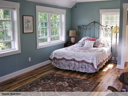 Wellfleet Cape Cod vacation rental - Master Bedroom (2nd flr)
