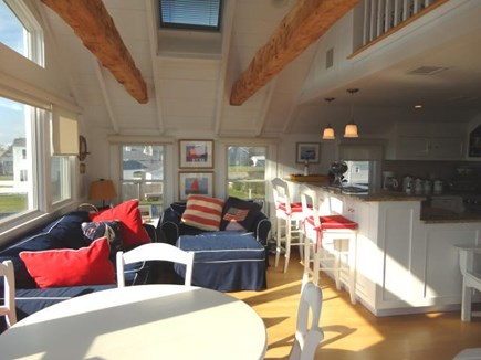 Hyannis, Kalmus Beach Cape Cod vacation rental - Open concept lviing