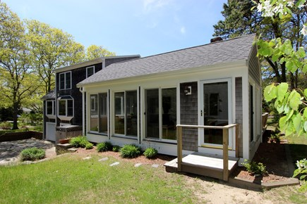 Dennis Cape Cod vacation rental - Exterior of three season room