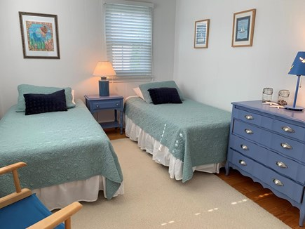 West Dennis Cape Cod vacation rental - Cozy bedroom with 2 twin beds