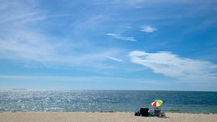 West Dennis Cape Cod vacation rental - West Dennis Beach is an easy walk or bike ride away