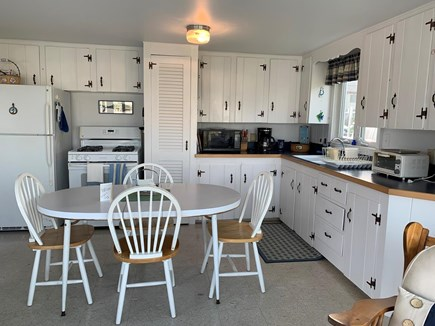 West Dennis Cape Cod vacation rental - Big open kitchen full of Cape Cod charm