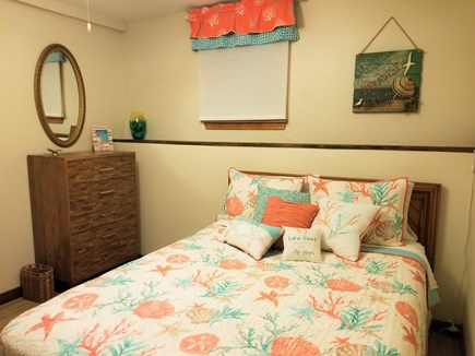 E Falmouth Cape Cod vacation rental - Lower Master Bedroom with Queen