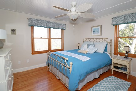 E Falmouth Cape Cod vacation rental - Spacious Upper Level Master Bedroom with Queen Looks out onto Bay