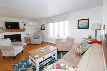 E Falmouth Cape Cod vacation rental - Upper Living Room Great for Adult Time!