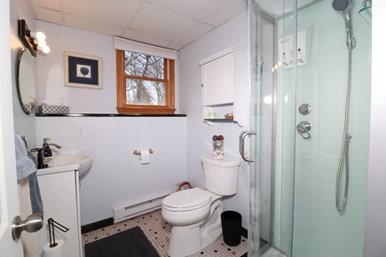 E Falmouth Cape Cod vacation rental - Bright Lower Level Bath with New Shower