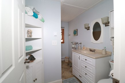 E Falmouth Cape Cod vacation rental - Upper Level Bath with Shower and Tub