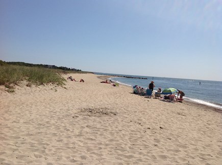 E Falmouth Cape Cod vacation rental - Private Acapesket Association Beach just a 5-minute walk away