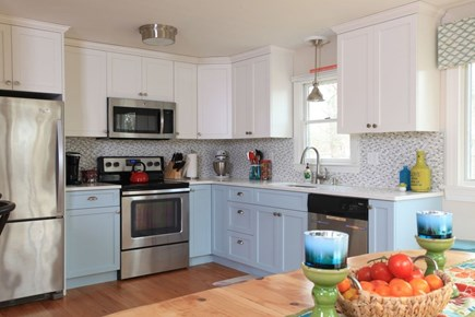 E Falmouth Cape Cod vacation rental - Newly Renovated and Well Equipped Kitchen Seats 12