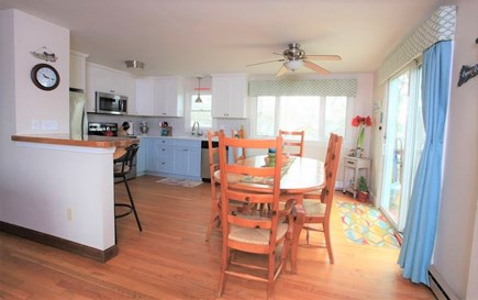 E Falmouth Cape Cod vacation rental - Table seats 10. Two more seats at Cape Memory Peninsula