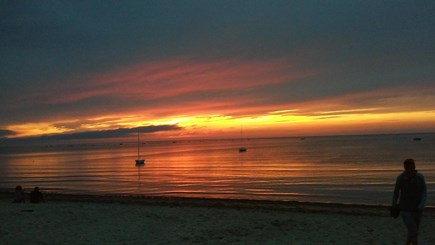 Brewster Cape Cod vacation rental - Linnell Landing sunset