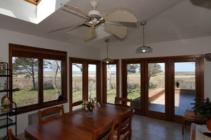 Eastham Cape Cod vacation rental - Amazing views from this additional dining area