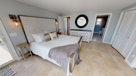 Harwich Cape Cod vacation rental - Down stairs master Bedroom.