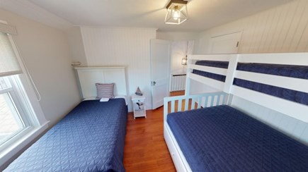 Harwich Cape Cod vacation rental - Second floor Bed Room with bunk beds for the kids.