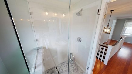 Harwich Cape Cod vacation rental - Up stairs Bathroom.