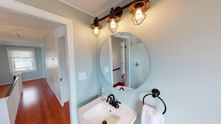 Harwich Cape Cod vacation rental - Second floor Bathroom.