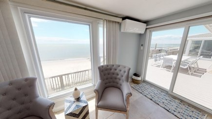 Harwich Cape Cod vacation rental - Den over looking the water.