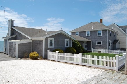 Harwich Cape Cod vacation rental - Side Yard.