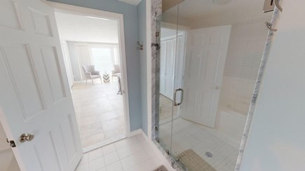 Harwich Cape Cod vacation rental - Master Bathroom.