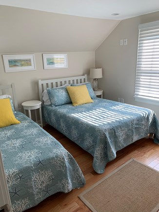 Falmouth Heights Cape Cod vacation rental - Bedroom with 1 double and 1 twin size bed