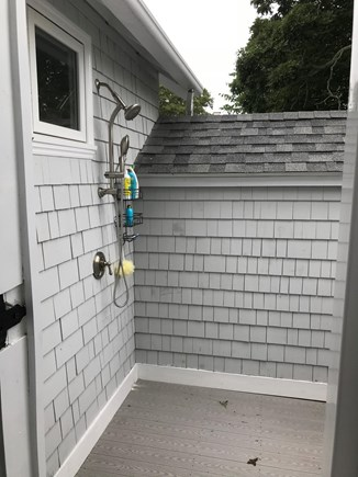 Falmouth Heights Cape Cod vacation rental - Outside shower