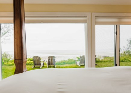 Brewster Cape Cod vacation rental - View from the master queen bed