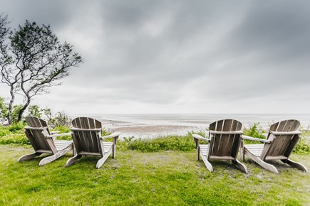 Brewster Cape Cod vacation rental - Front of house at low tide