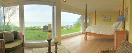 Brewster Cape Cod vacation rental - Master suite with sitting area (bunny not included)