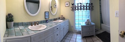 Brewster Cape Cod vacation rental - Guest bath with jetted tub