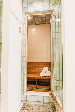 Brewster Cape Cod vacation rental - Entrance to steam room