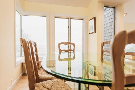 Brewster Cape Cod vacation rental - Dining bayside