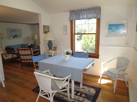 Orleans Cape Cod vacation rental - Dining area alternate view